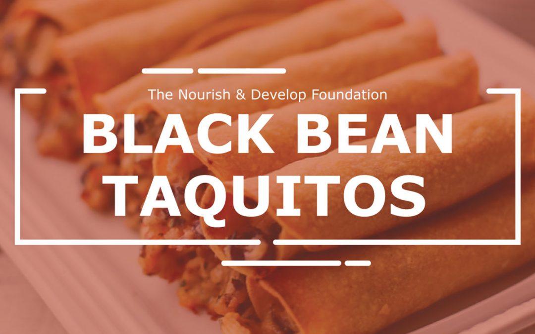 Black Bean Taquito