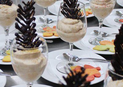Whipped dessert