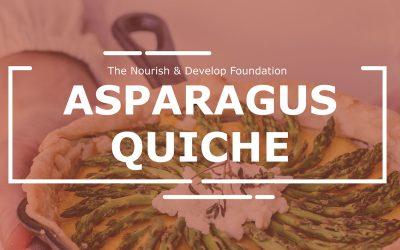 Asparagus Quiche: Community Lunch Challenge