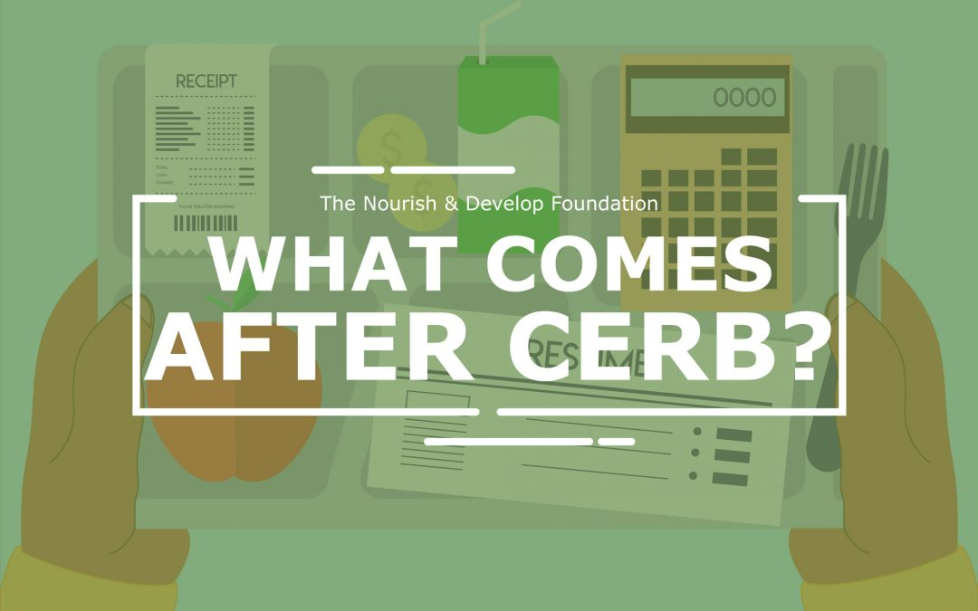 What comes after CERB?