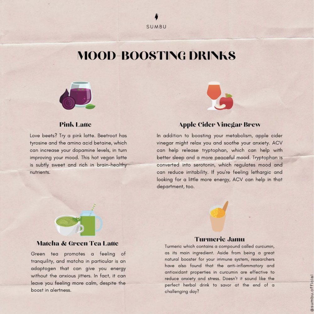 DRINKS THAT BOOST MOOD