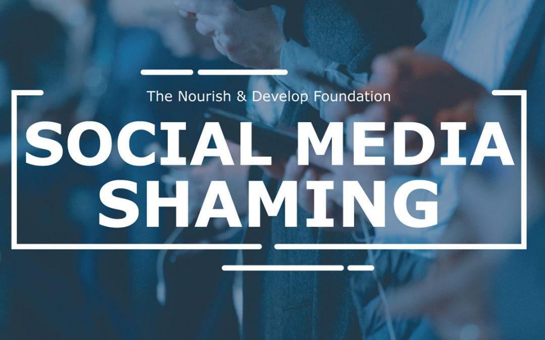 Social Media Shaming