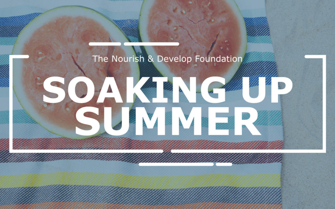 #MentalHealthMonday: Soaking Up Summer!