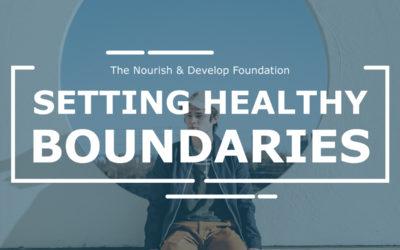 #MentalHealthMonday: Setting Healthy Boundaries